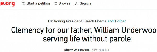 OVER 35,000 SUPPORTERS Petitioning President Obama for Our Dad