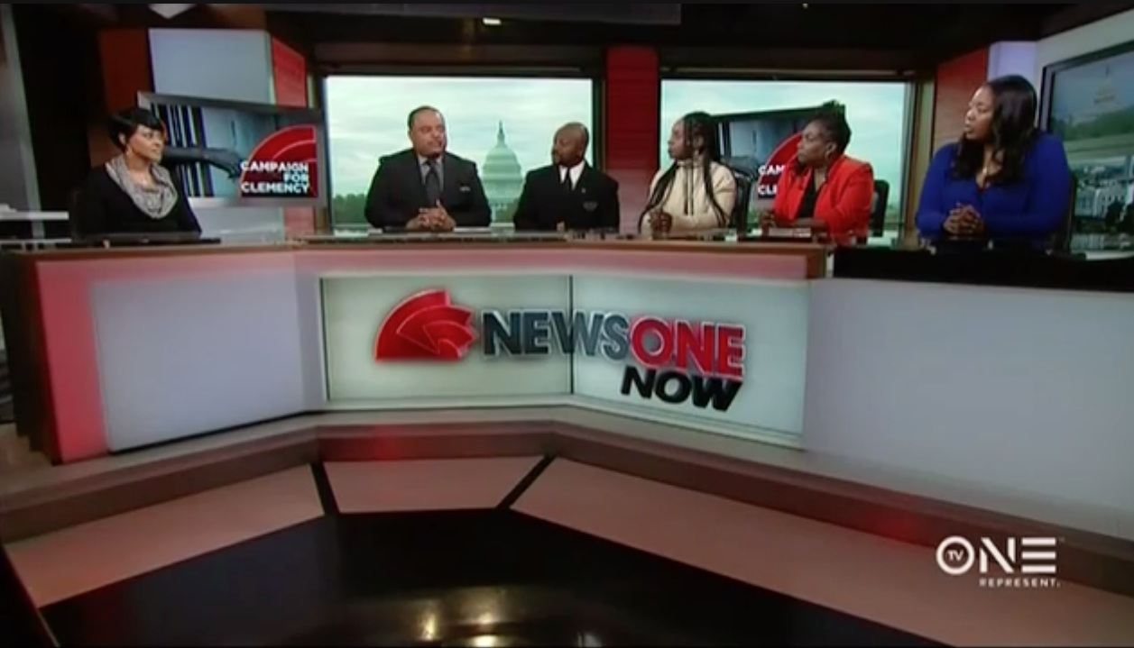 NEWSONE NOW: ROLAND MARTIN speaks to FAMILY MEMBERS URGING for #CLEMENCYNOW BEFORE OBAMA LEAVES OFFICE