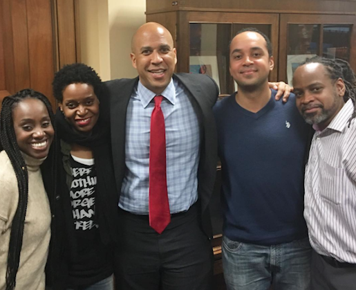 SENATOR CORY BOOKER with UNDERWOOD CHILDREN: FIGHTING FOR CRIMINAL JUSTICE REFORM TOGETHER